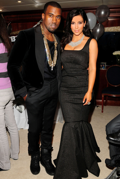 Kanye West Kim Kardashian date