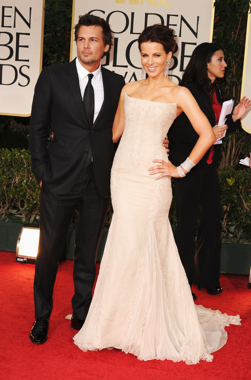 Kate Beckinsale and Len Wiseman