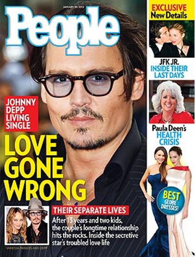 Johnny Depp Vanessa Paradis Wonderwall gossip Kat Giantis