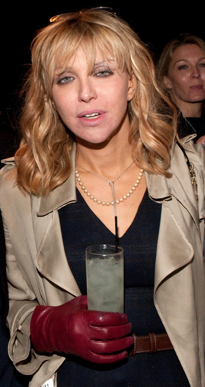 Courtney Love heroin