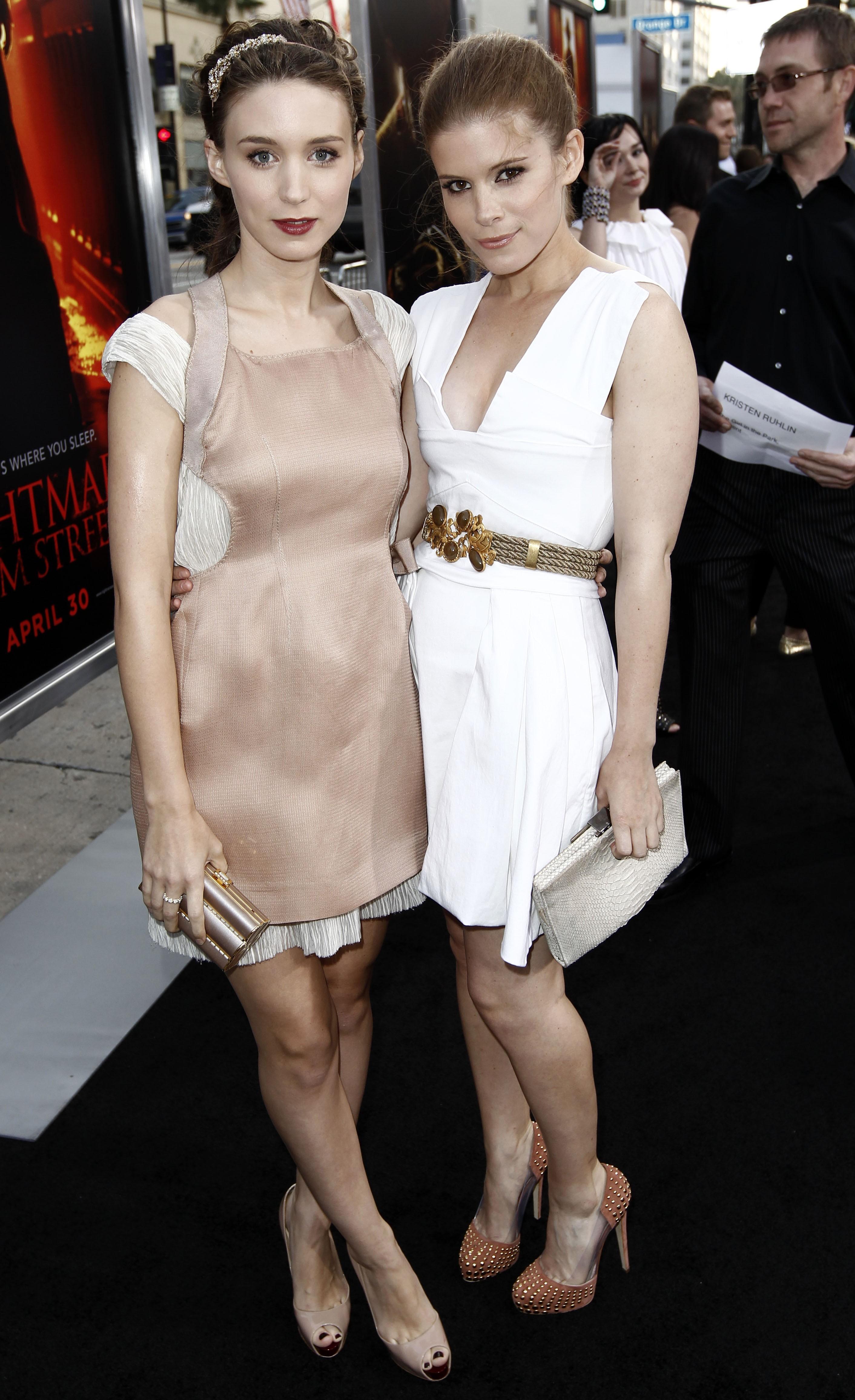 Rooney Mara, 31 and Kate Mara, 34