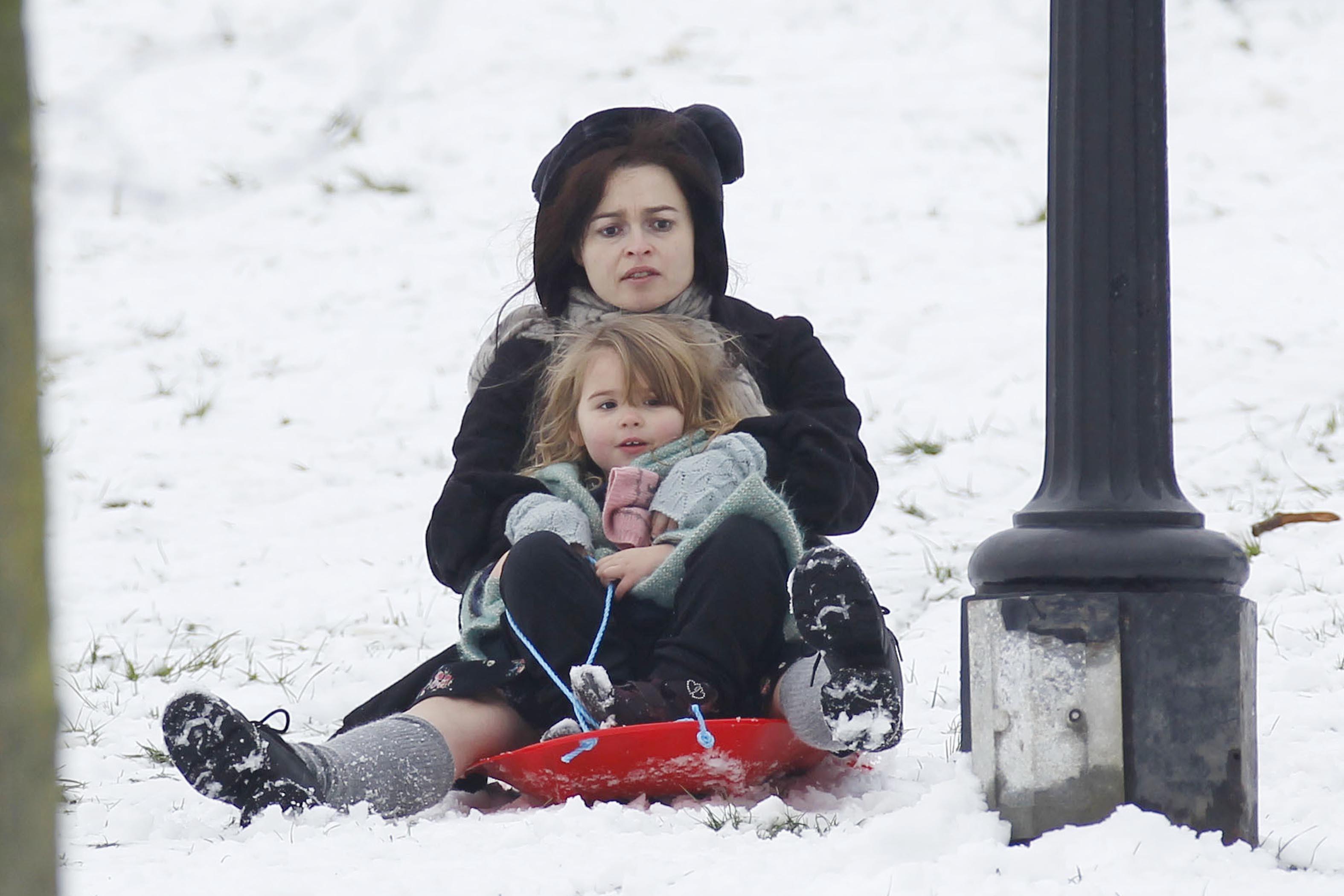 Helena Bonham Carter daughter