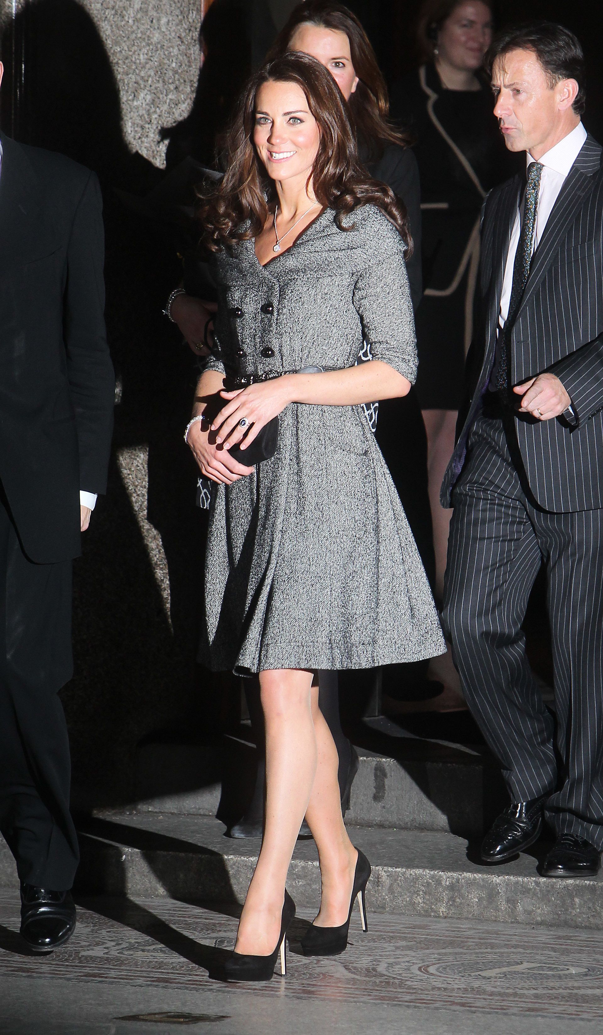Duchess Kate at exhibition