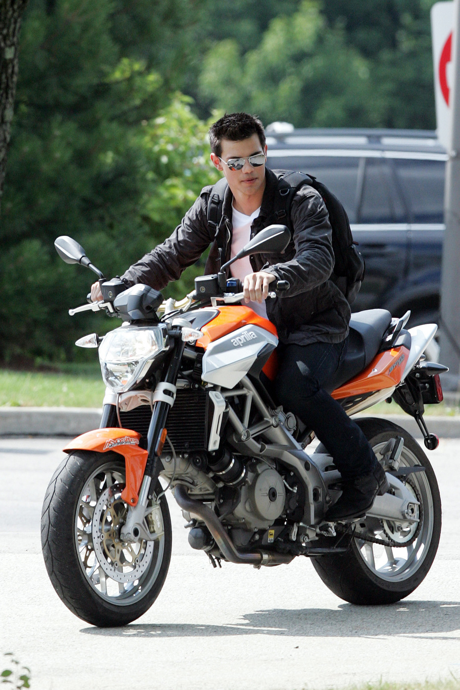 taylor lautner motorcycle