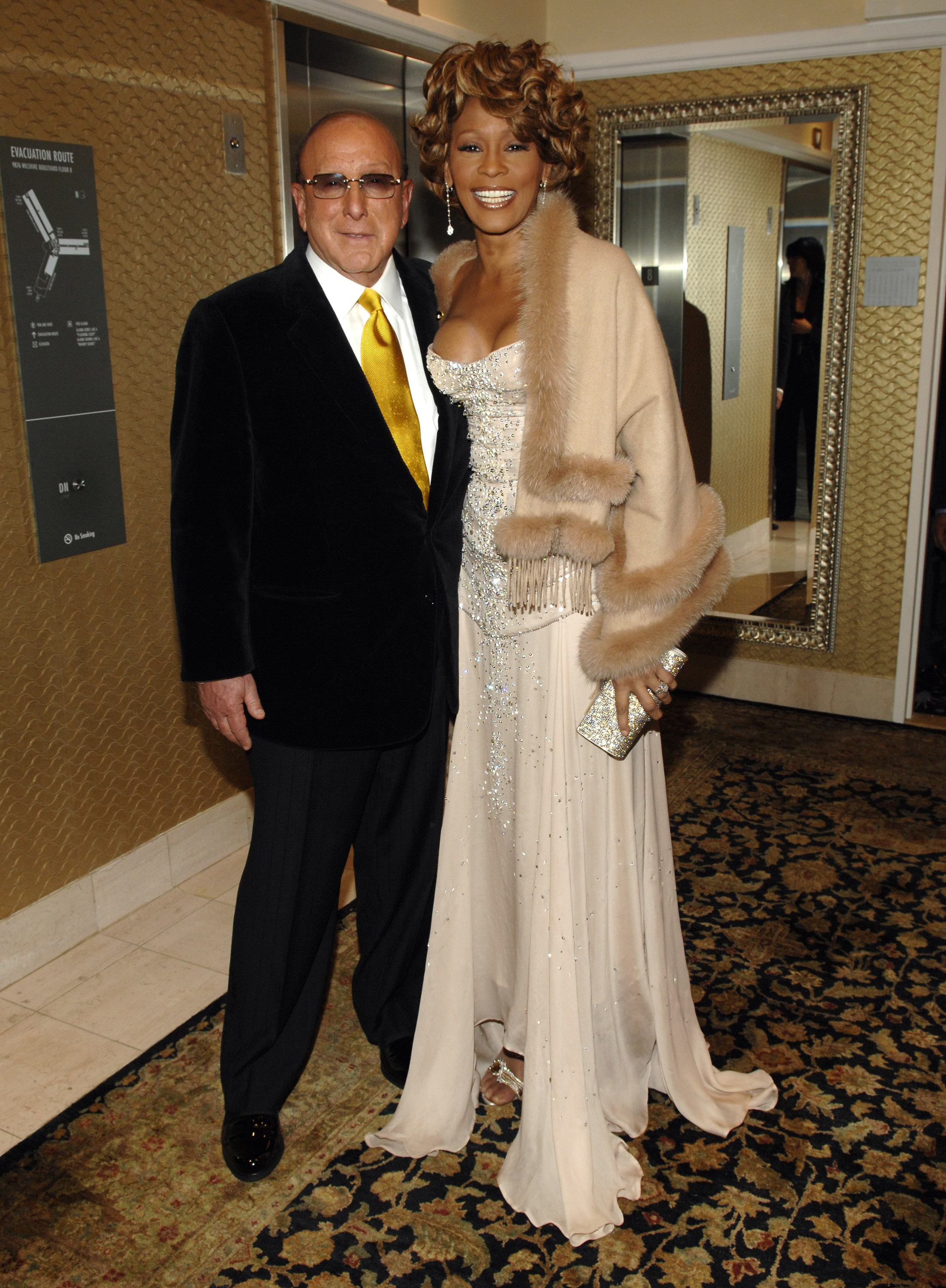 Clive Davis Whitney Houston sexuality