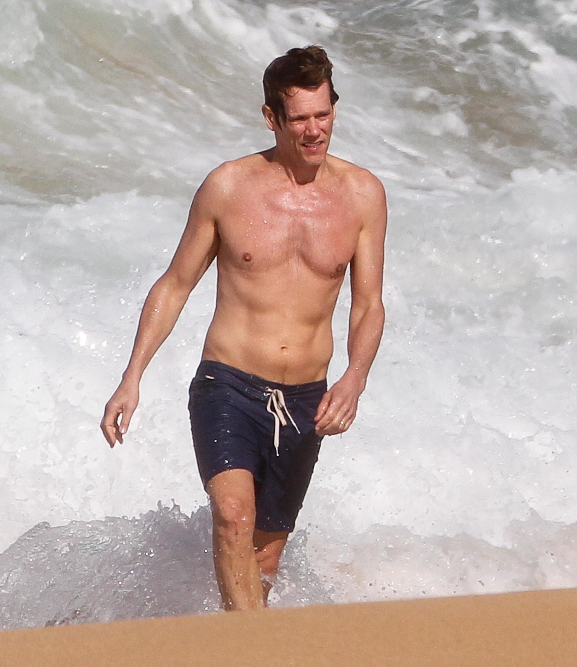 kevin bacon Shirtless male men celebrity hunks dudes
