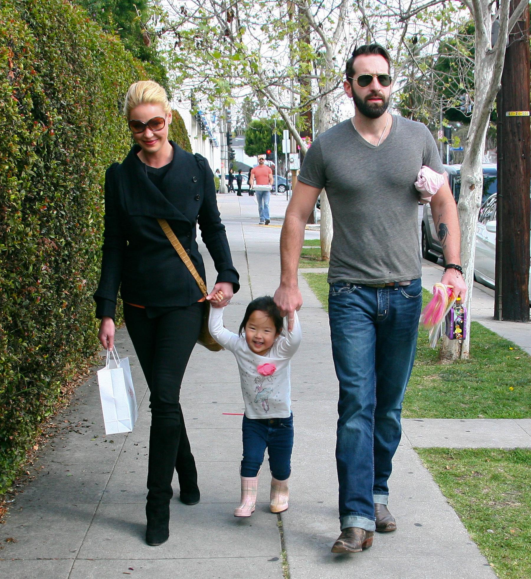 Katherine Heigl family
