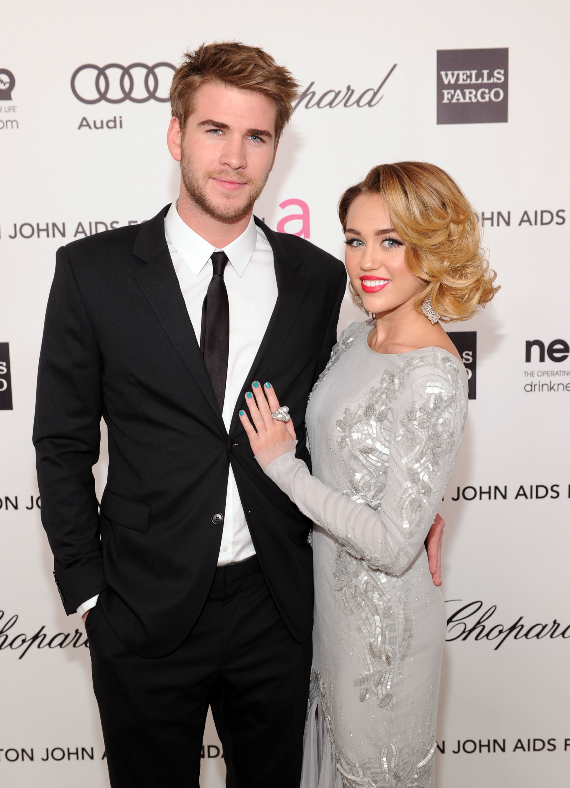 Miley Cyrus on Liam Hemsworth engagement