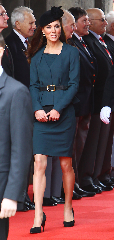 Duchess Kate visits university