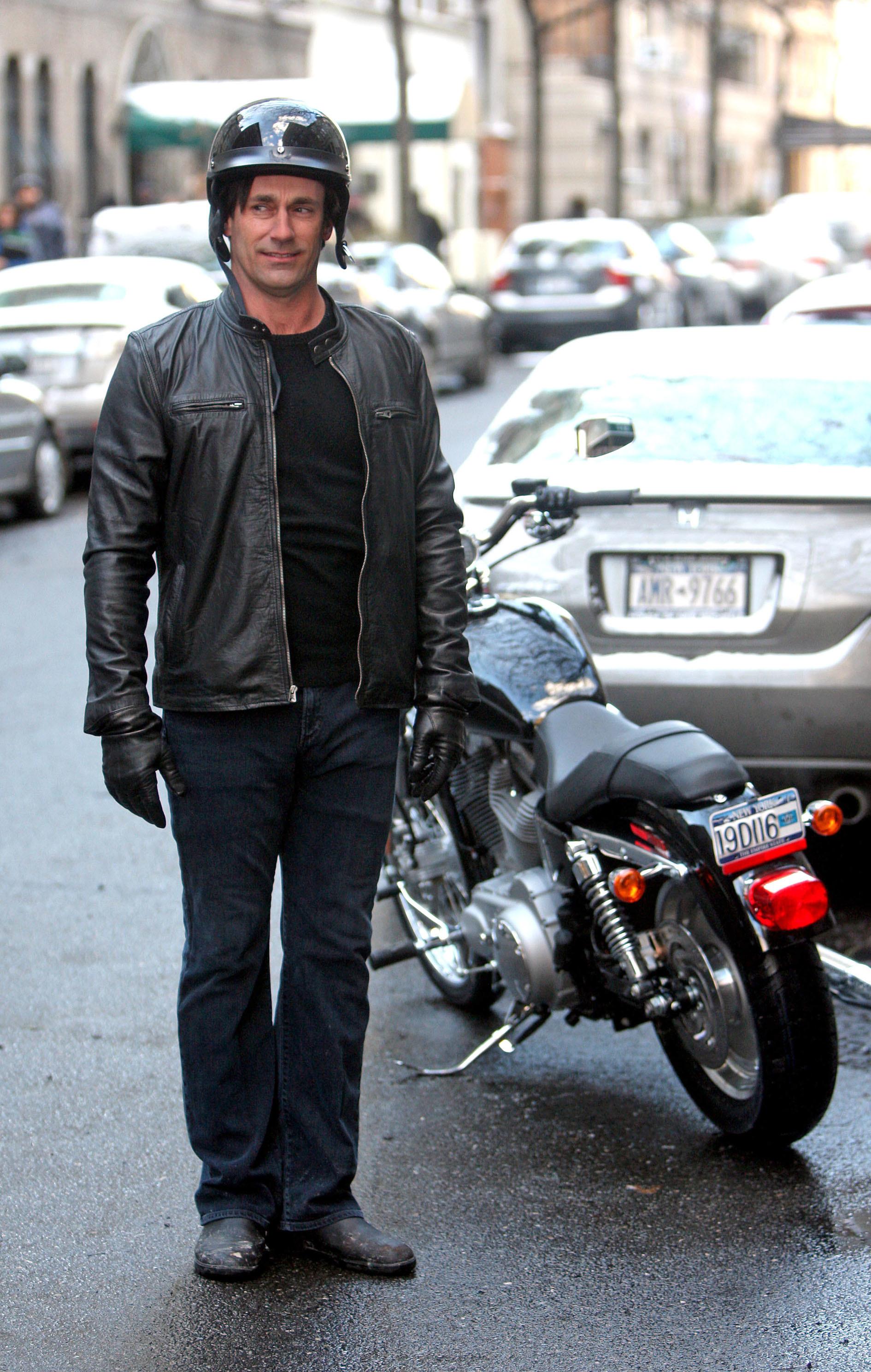 jon hamm motorcycle 30 rock