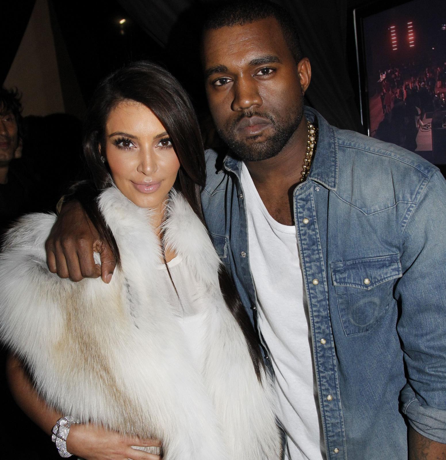 Kim Kardashian Kanye West dating