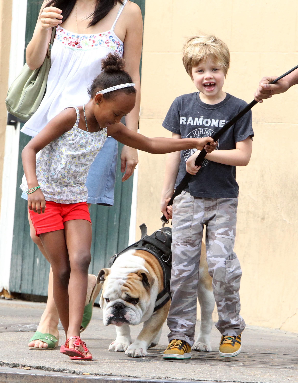 Jolie Pitt kids