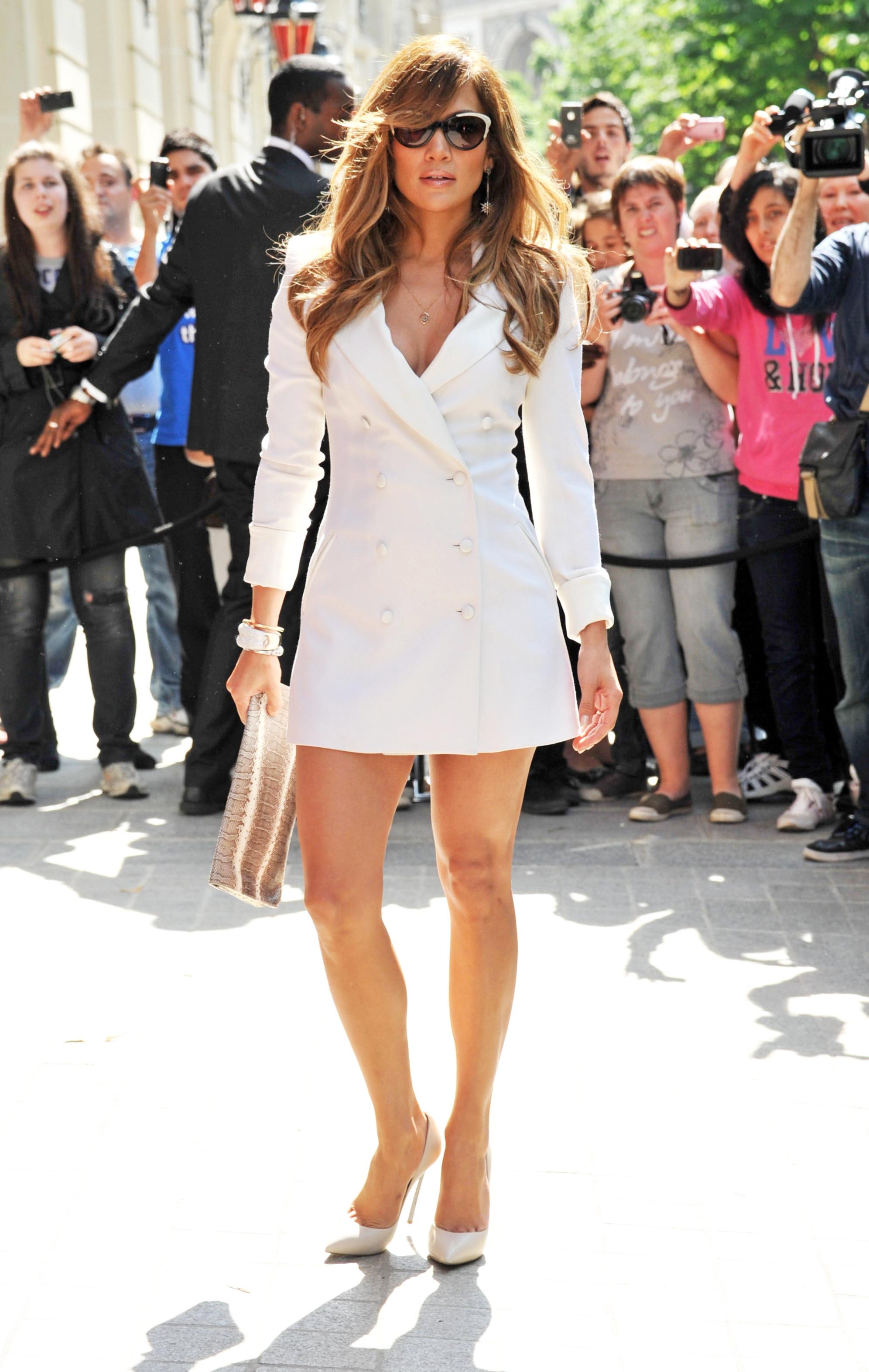 Street Style Jennifer Lopez Gallery Wonderwall Com