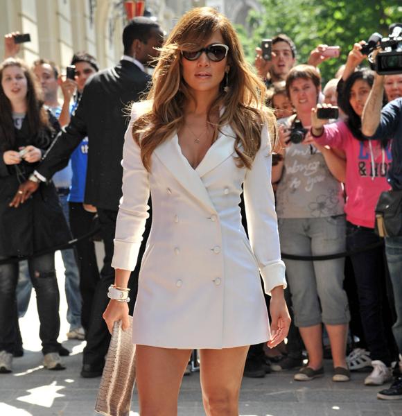 Jennifer Lopez trailer requests white coat dress