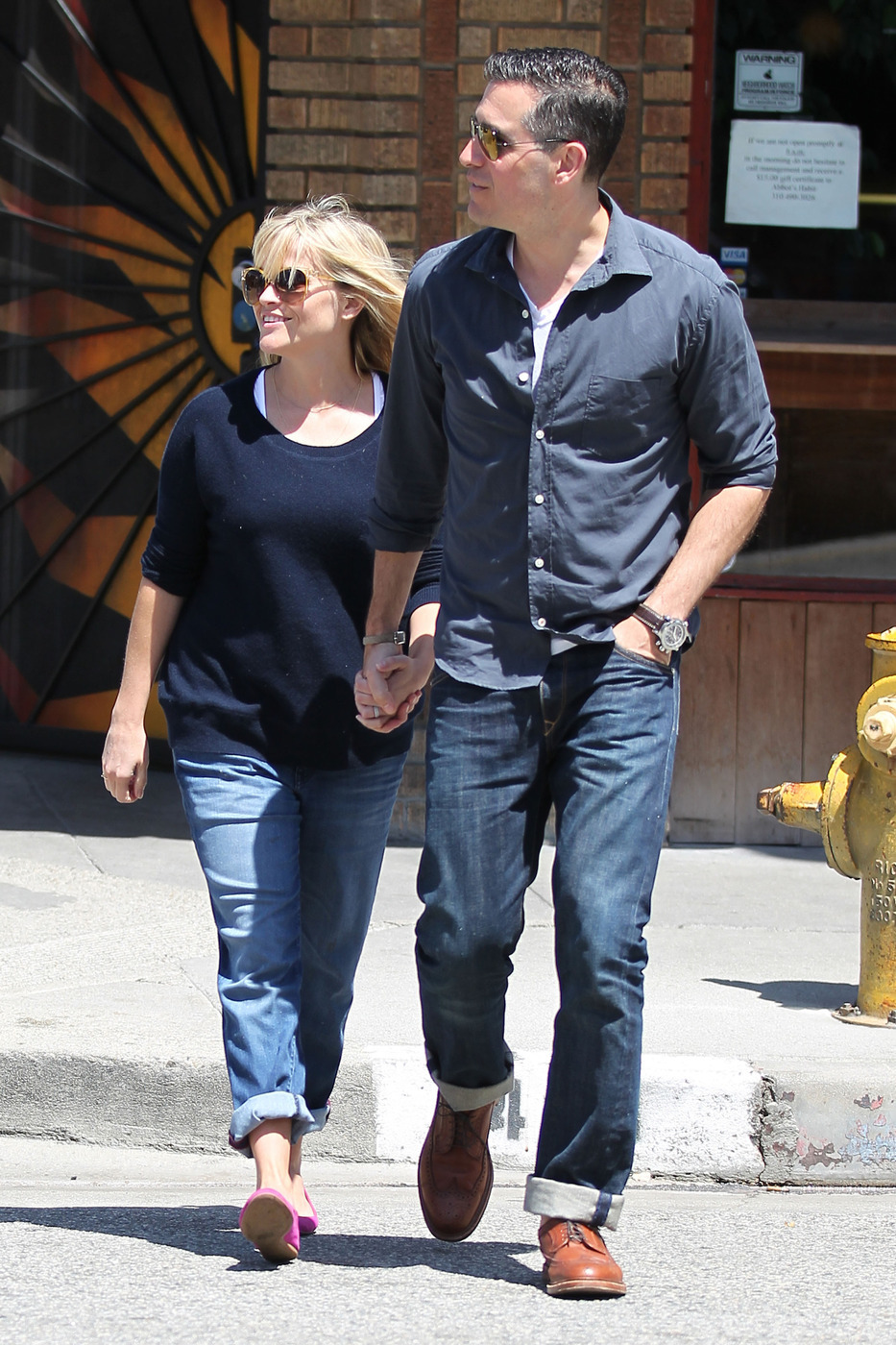reese witherspoon and jim toth pda