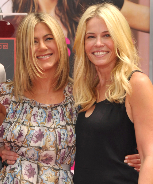 Chelsea Handler Jennifer Aniston