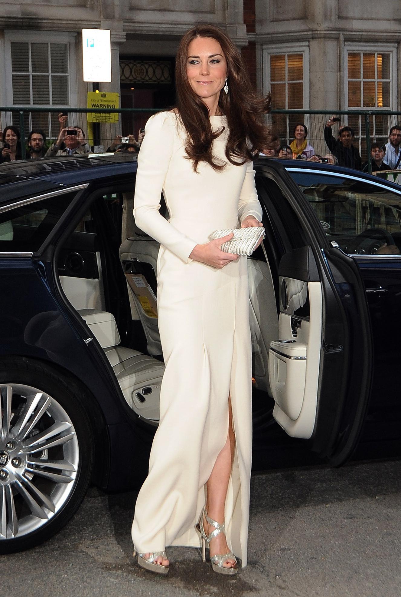 Duchess Kate white gown