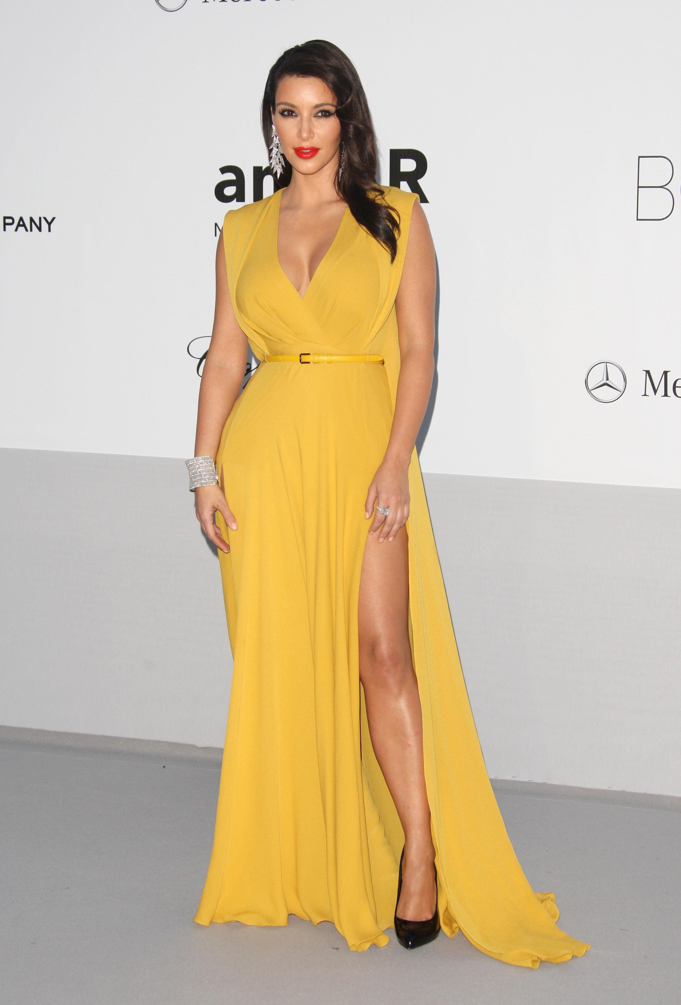 Kim Kardashian Rashida Jones who wore it better