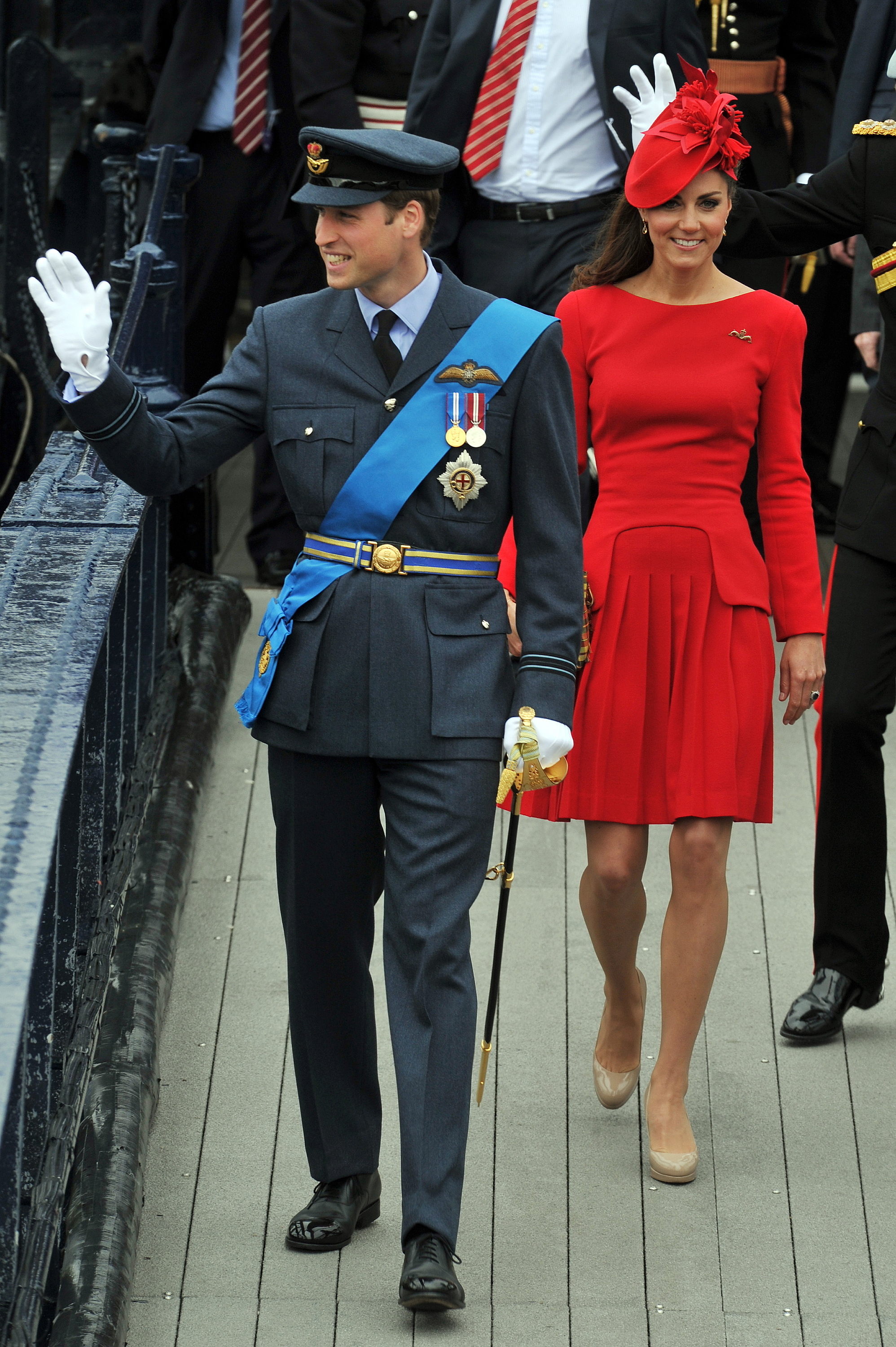 Duchess Kate Prince Wlliam jubilee pageant