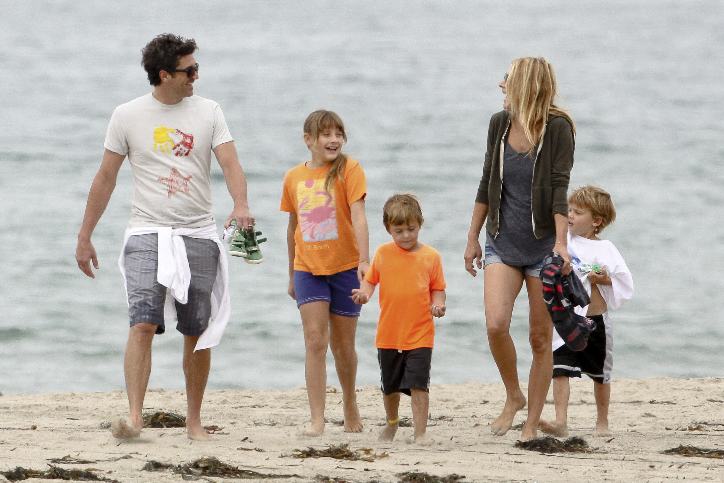 Dempsey family at the beach