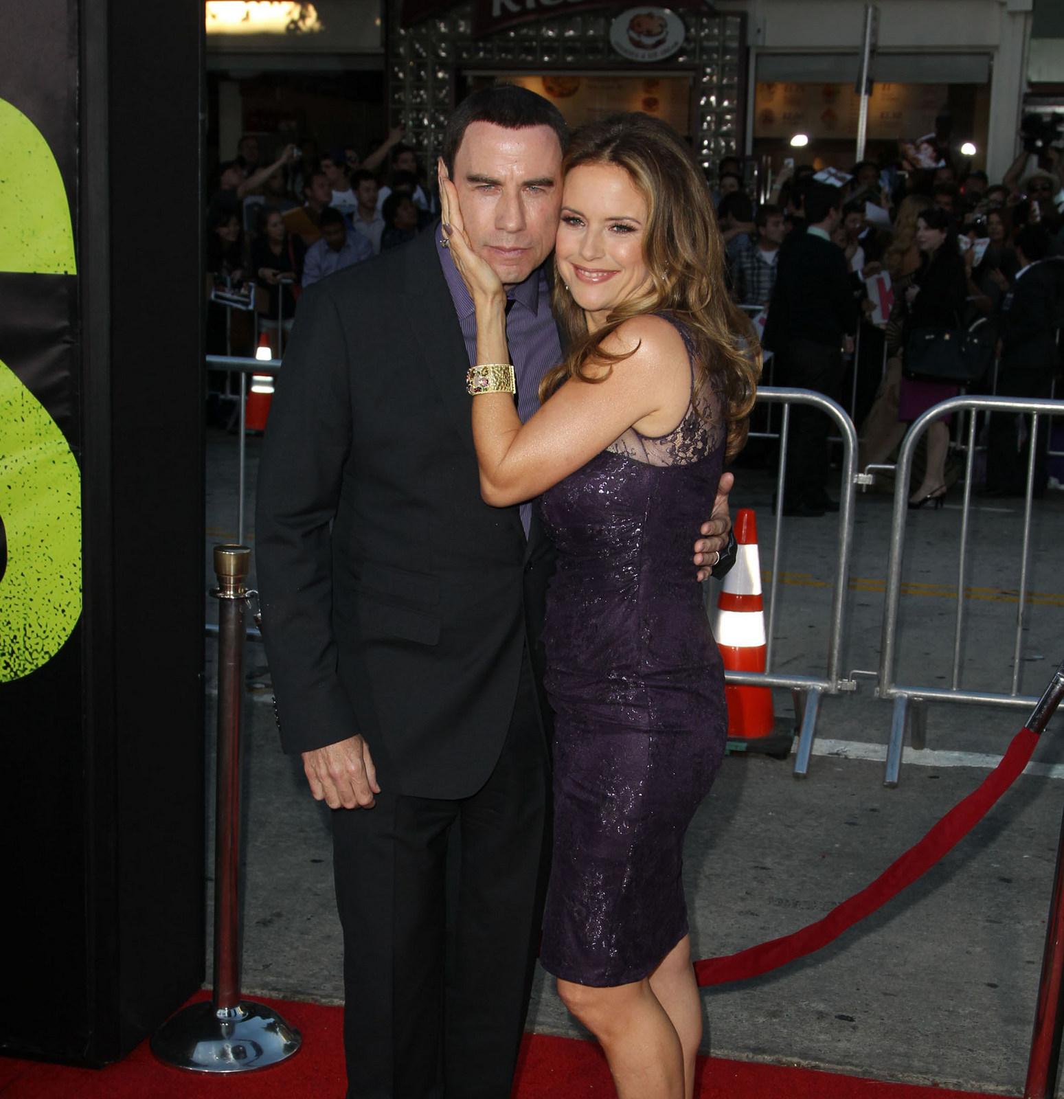 John Travolta Kelly Preston lawsuits PDA