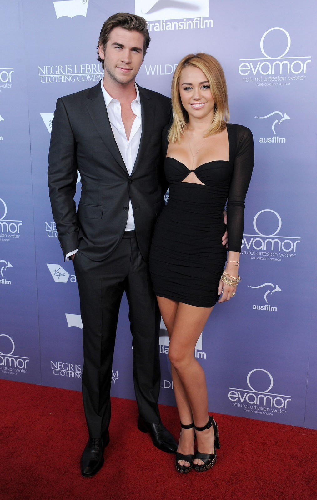 Miley Cyrus liam hemsworth film awards