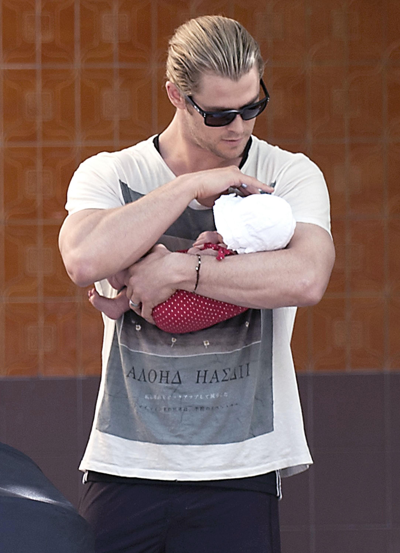 Chris Hemsworth daughter