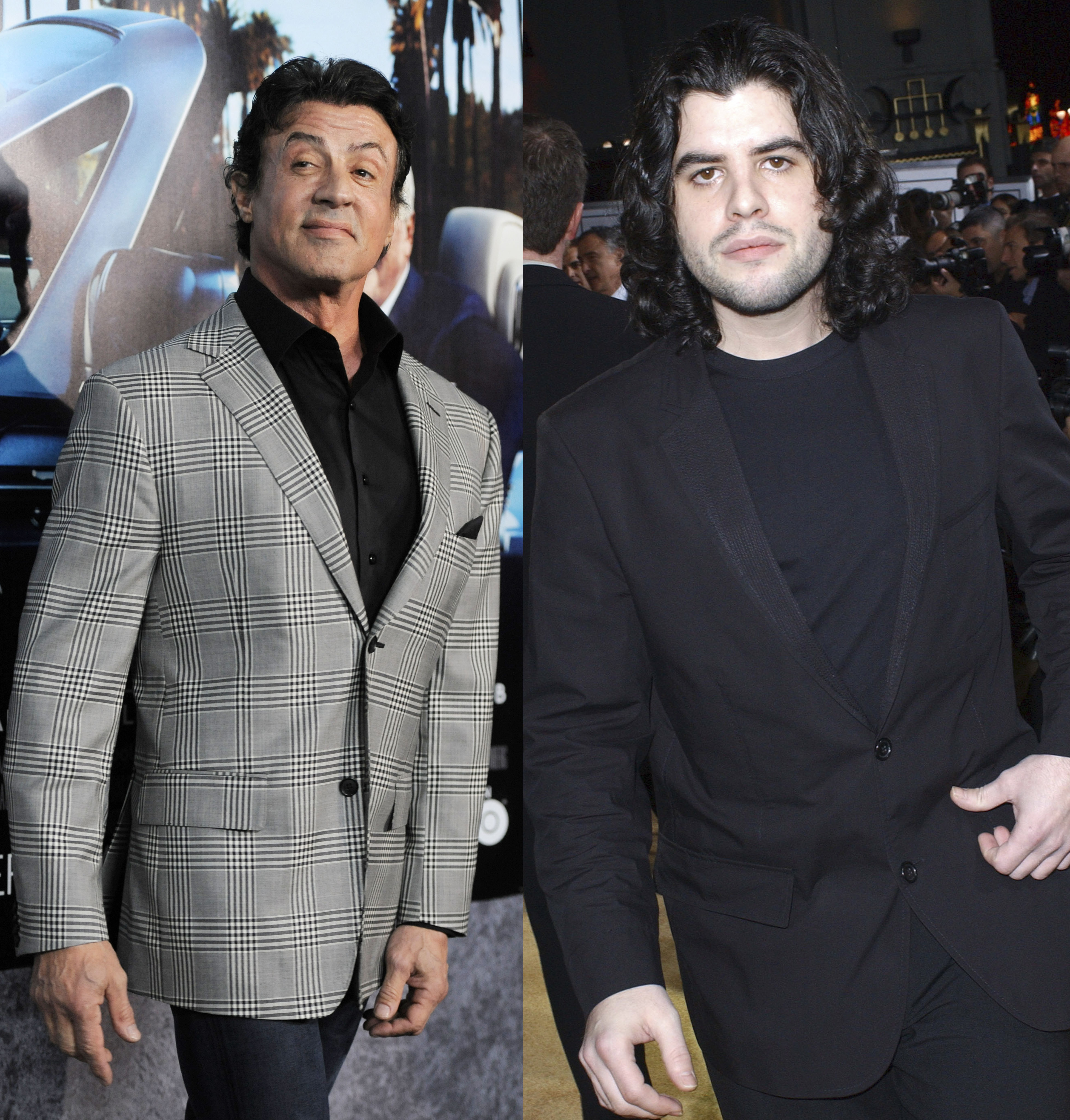 Sylvester Stallone Sage Stallone