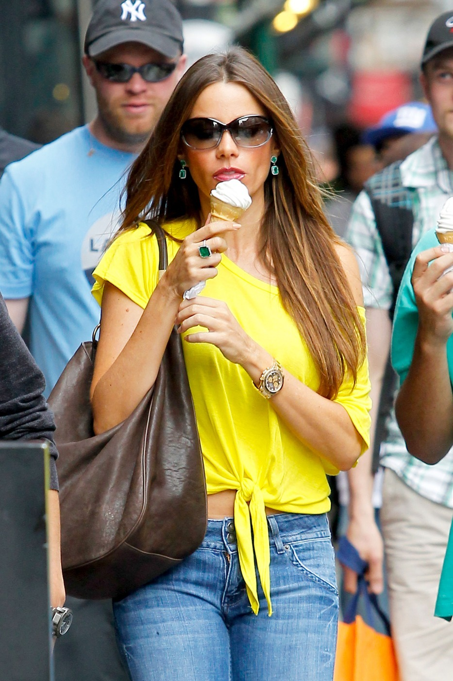 Sofia Vergara ice cream