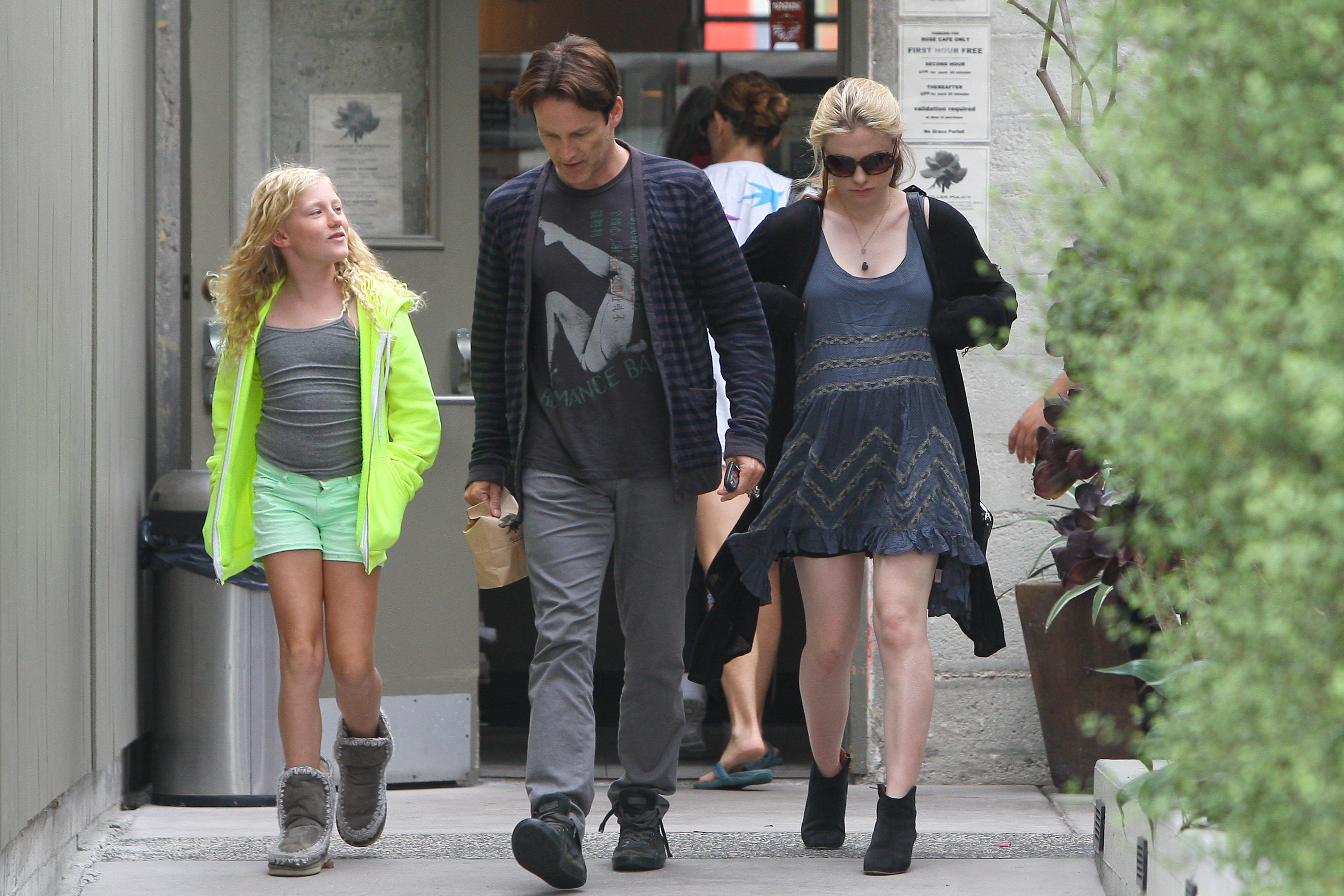 Anna Paquin out and about