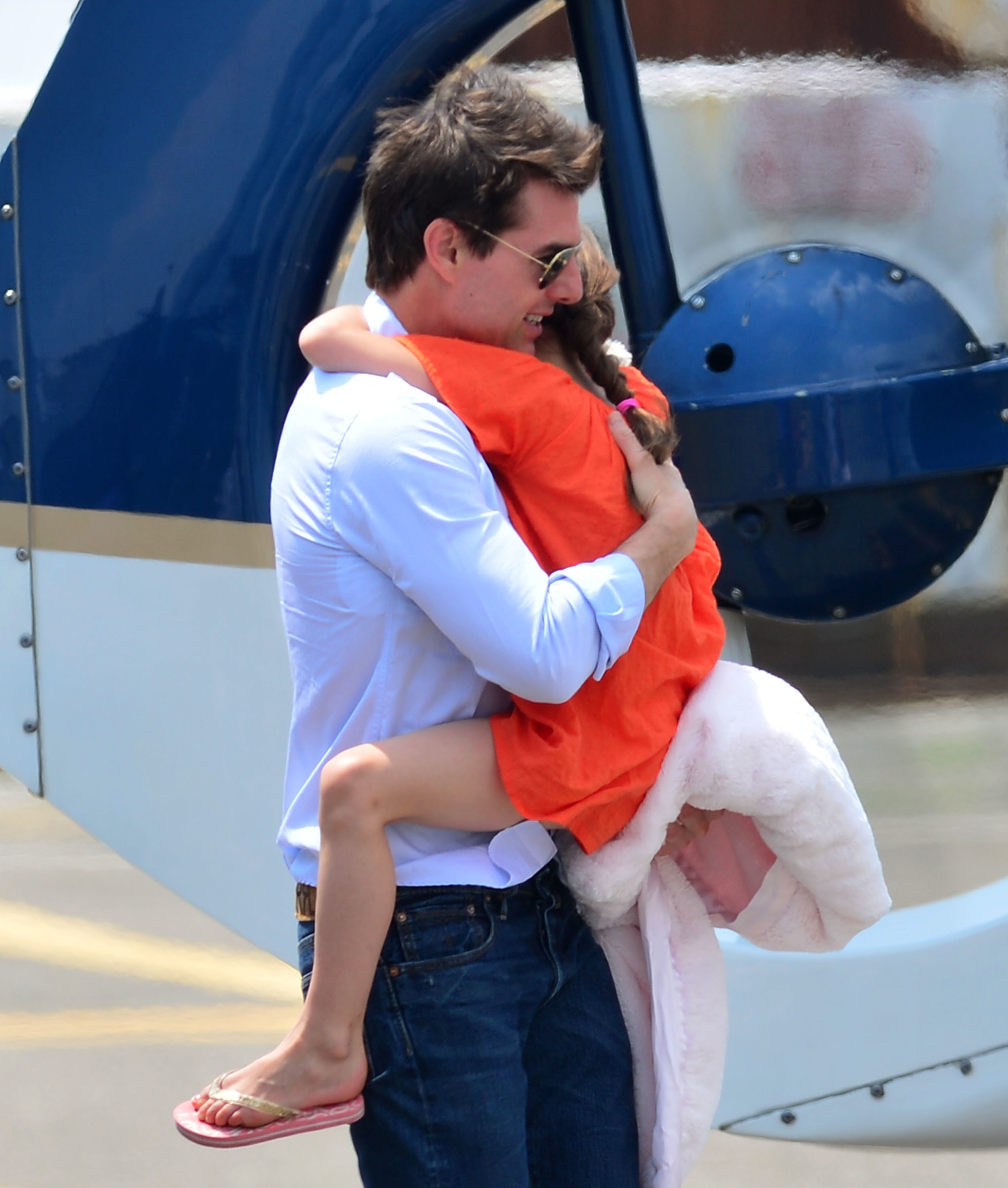tom cruise one year after the split