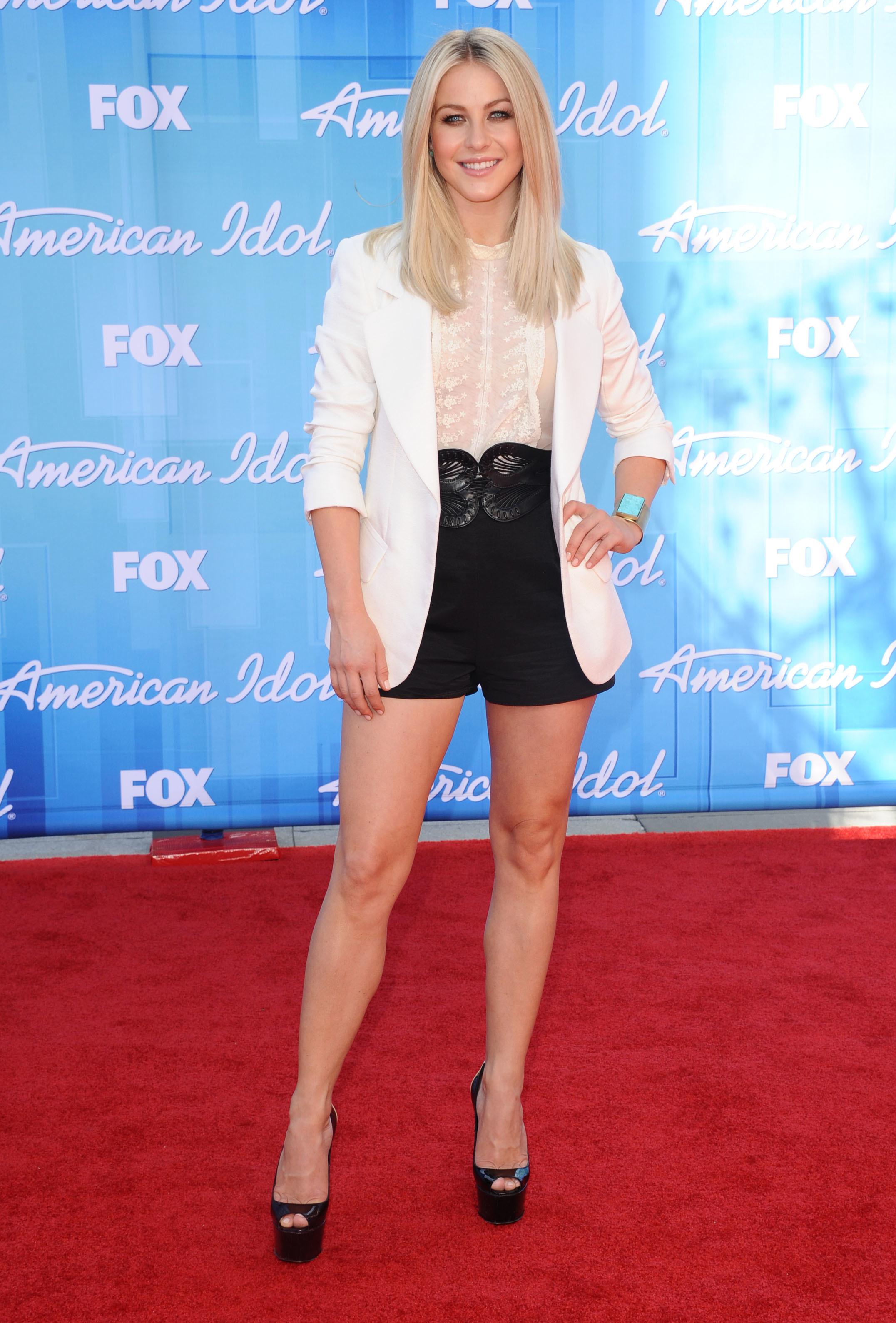 Julianne Hough shorts