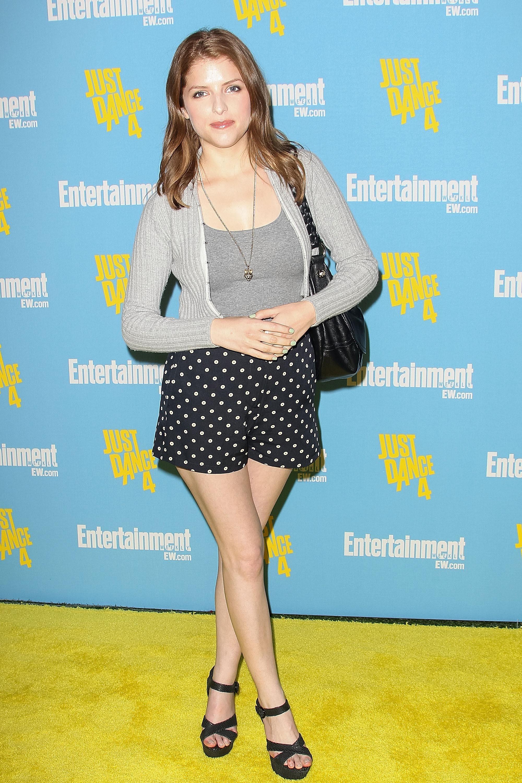 Anna Kendrick Madewall shorts