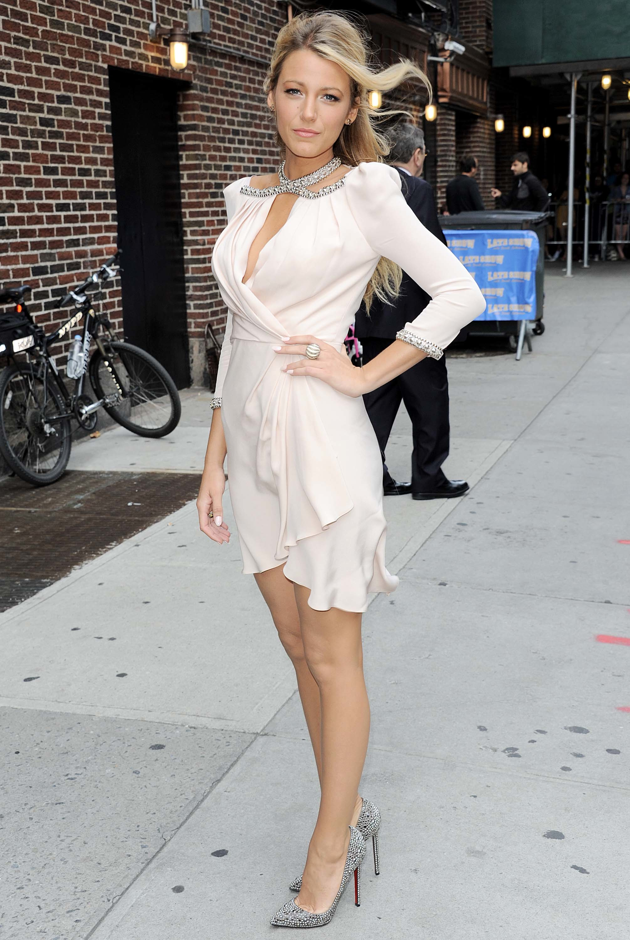 Blake Lively late show