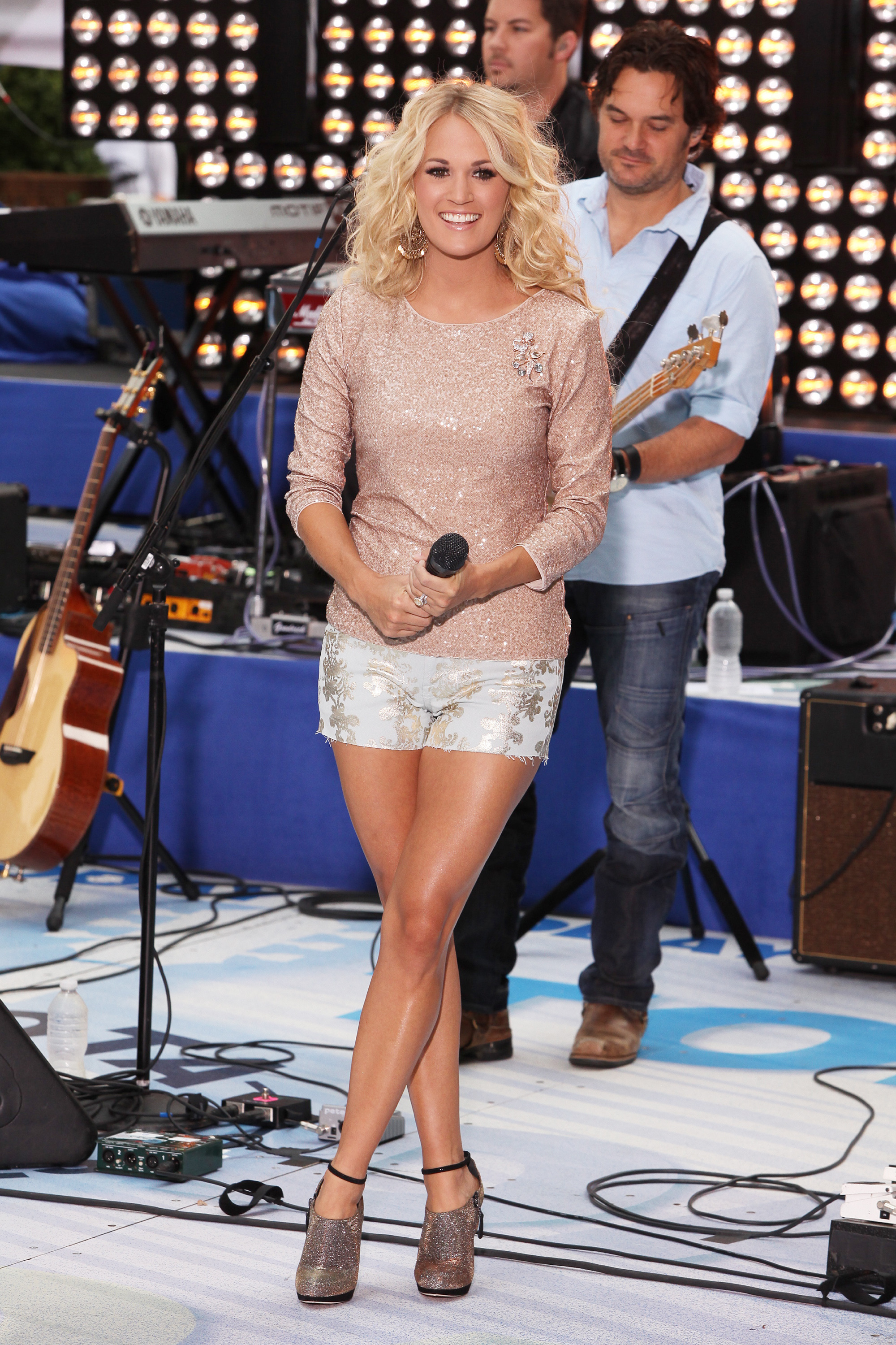 Carrie Underwood sparkle