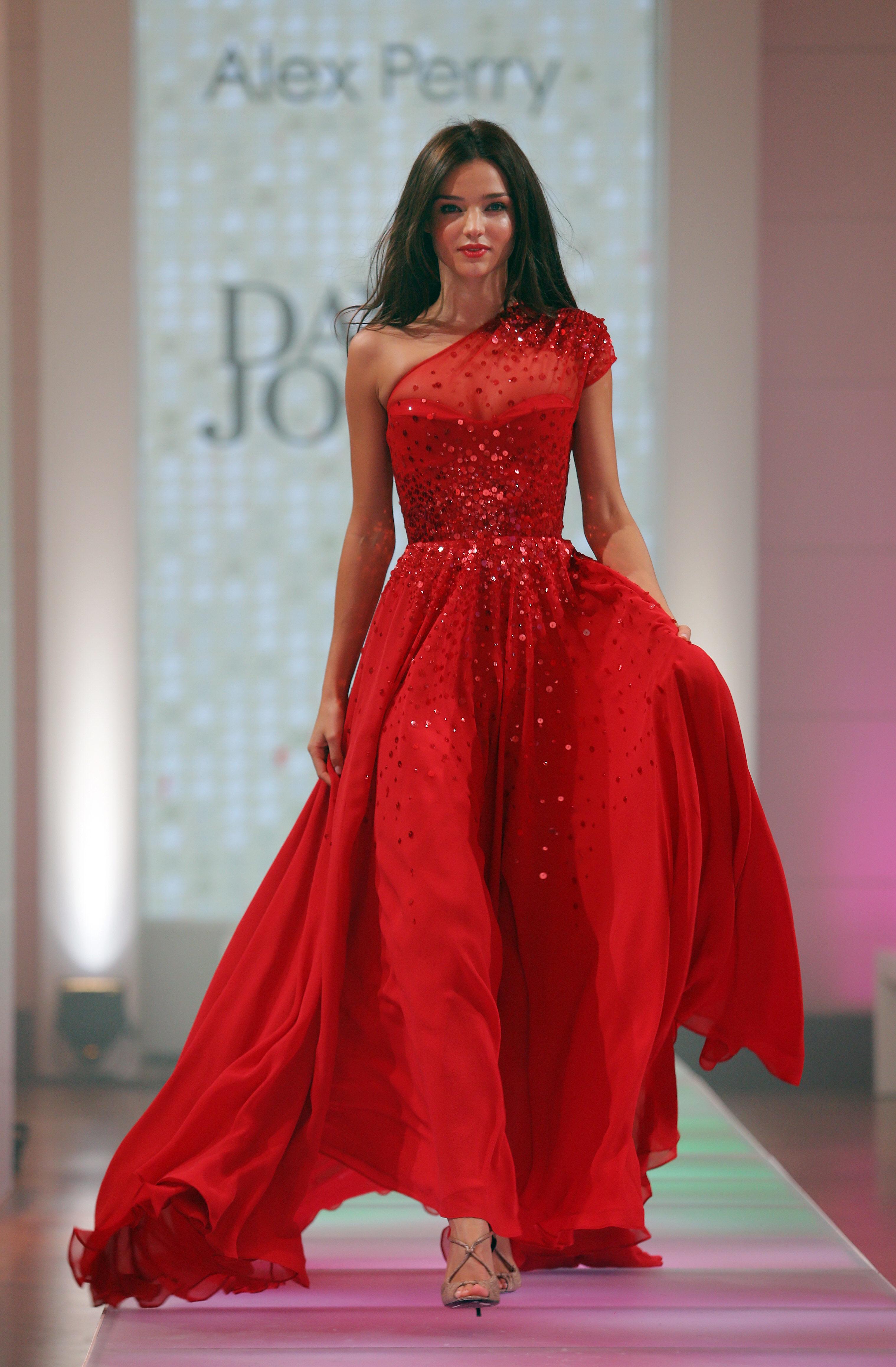 Miranda Kerr glittery dress