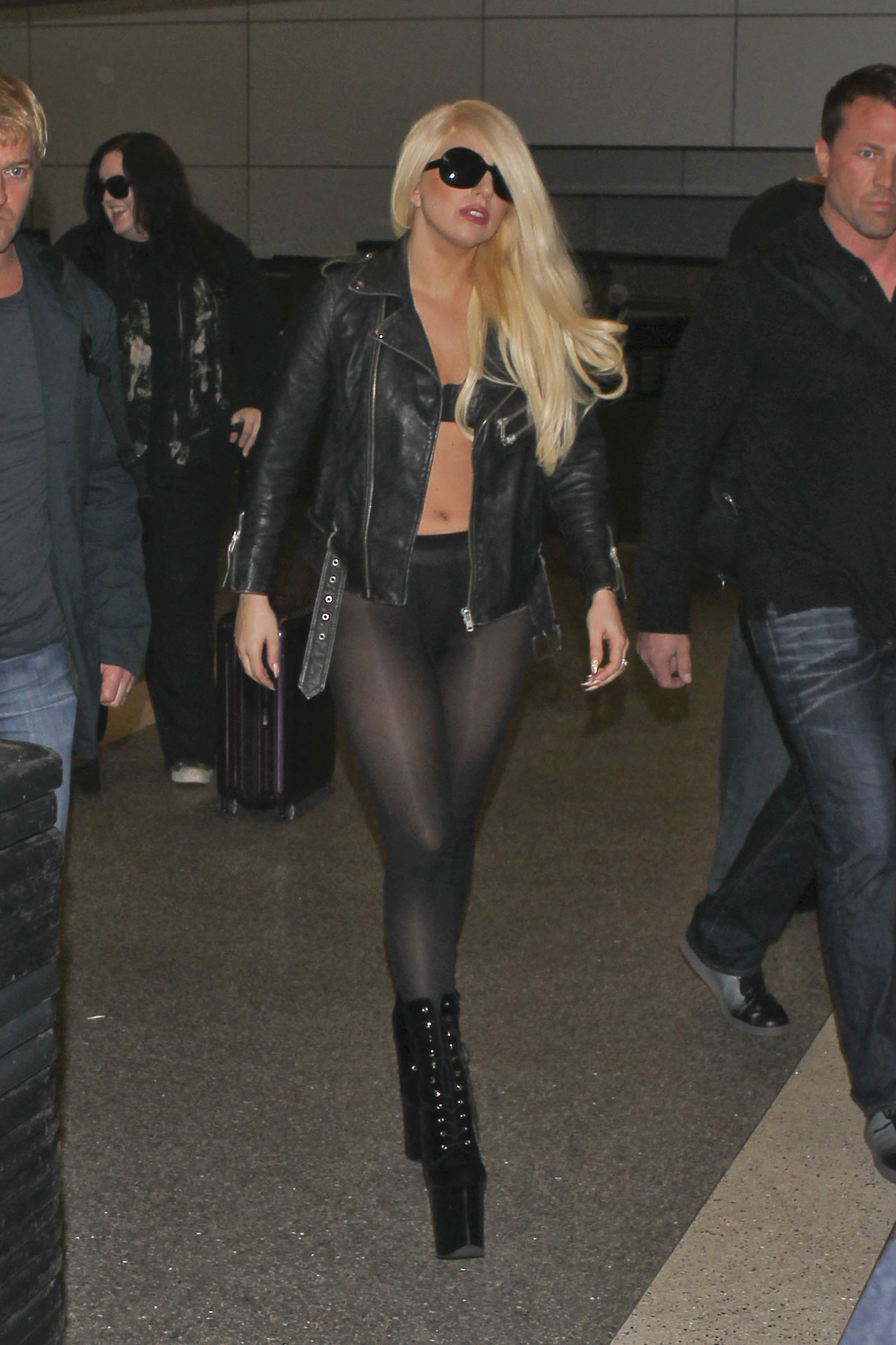 Lady Gaga travel style