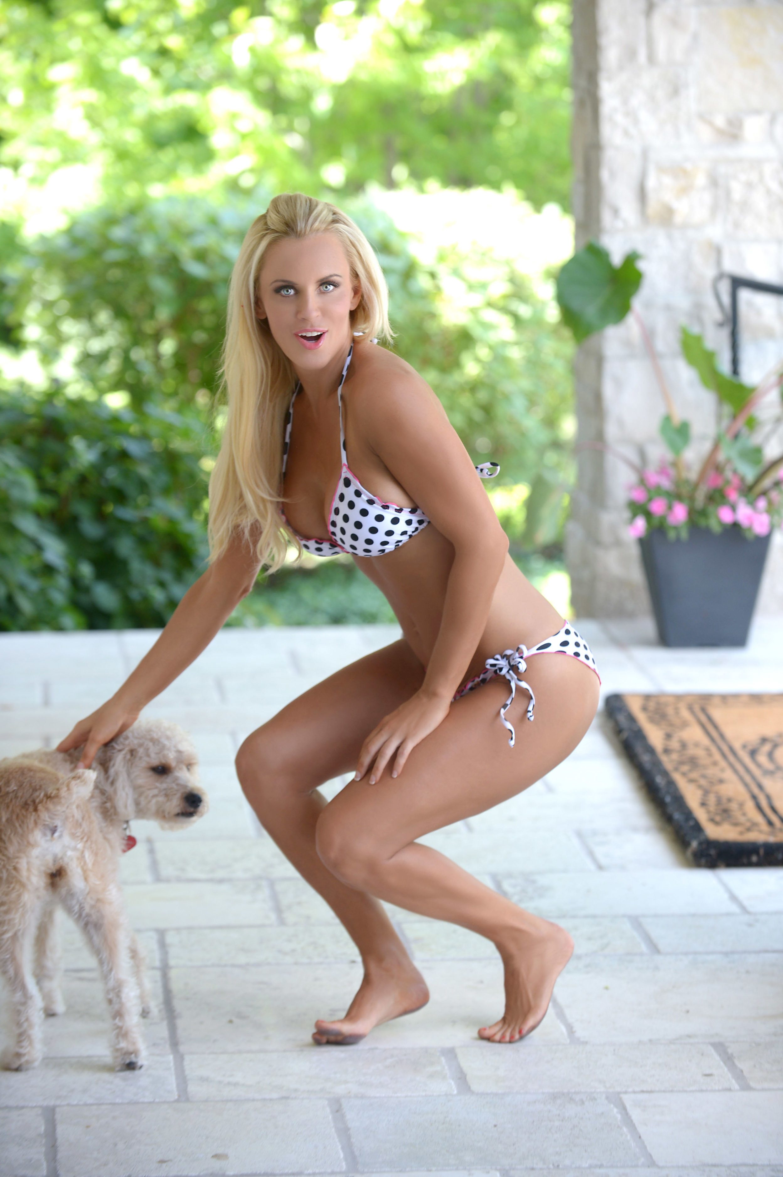 Jenny McCarthy dog