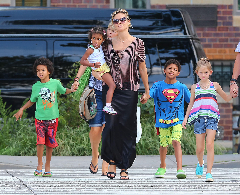 Heidi Klum kids