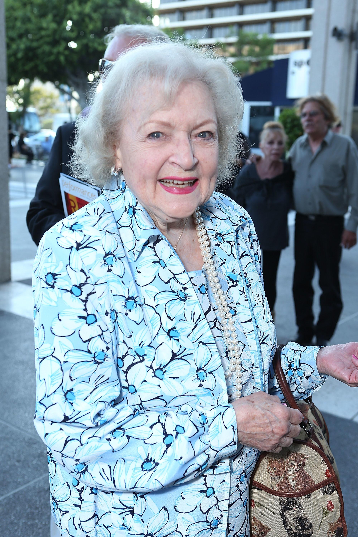betty white 91 birthday