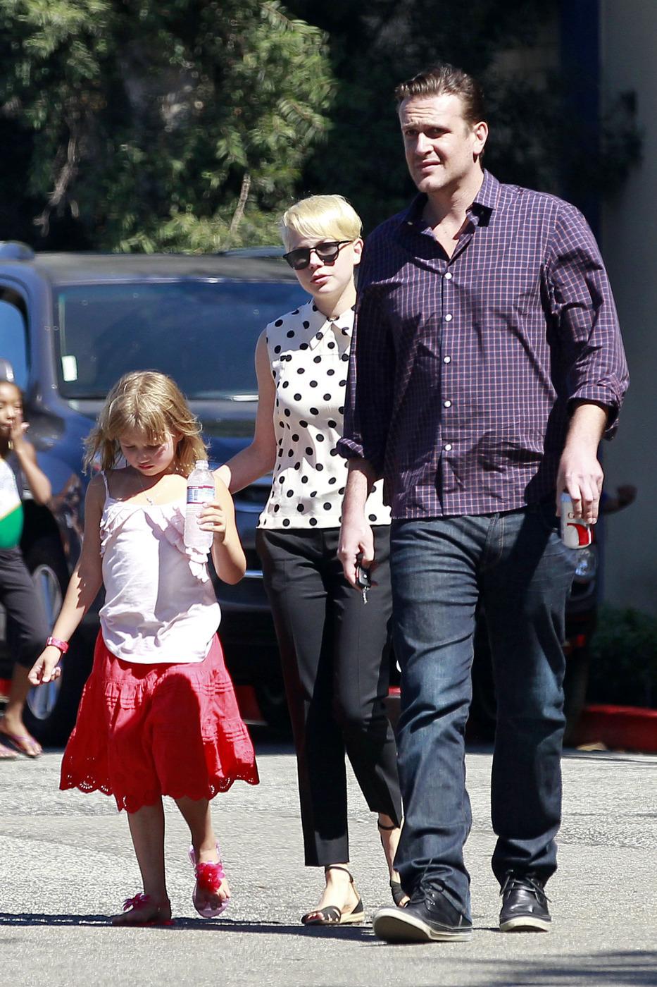 Michelle Williams Jason Segel breakup together dating split actor couple