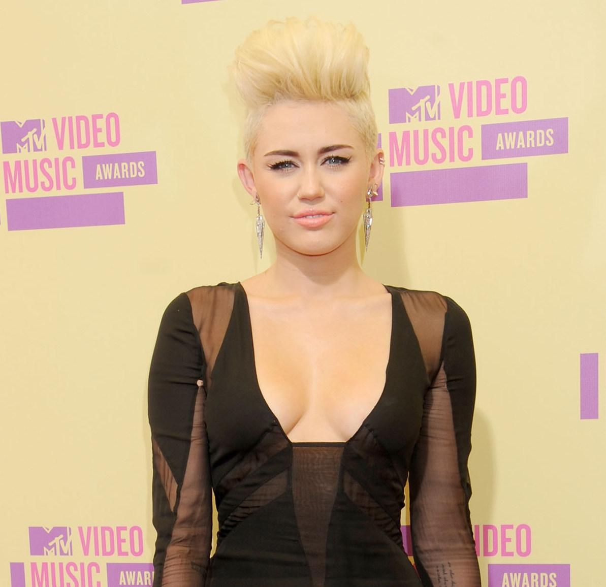 Miley Cyrus edgy