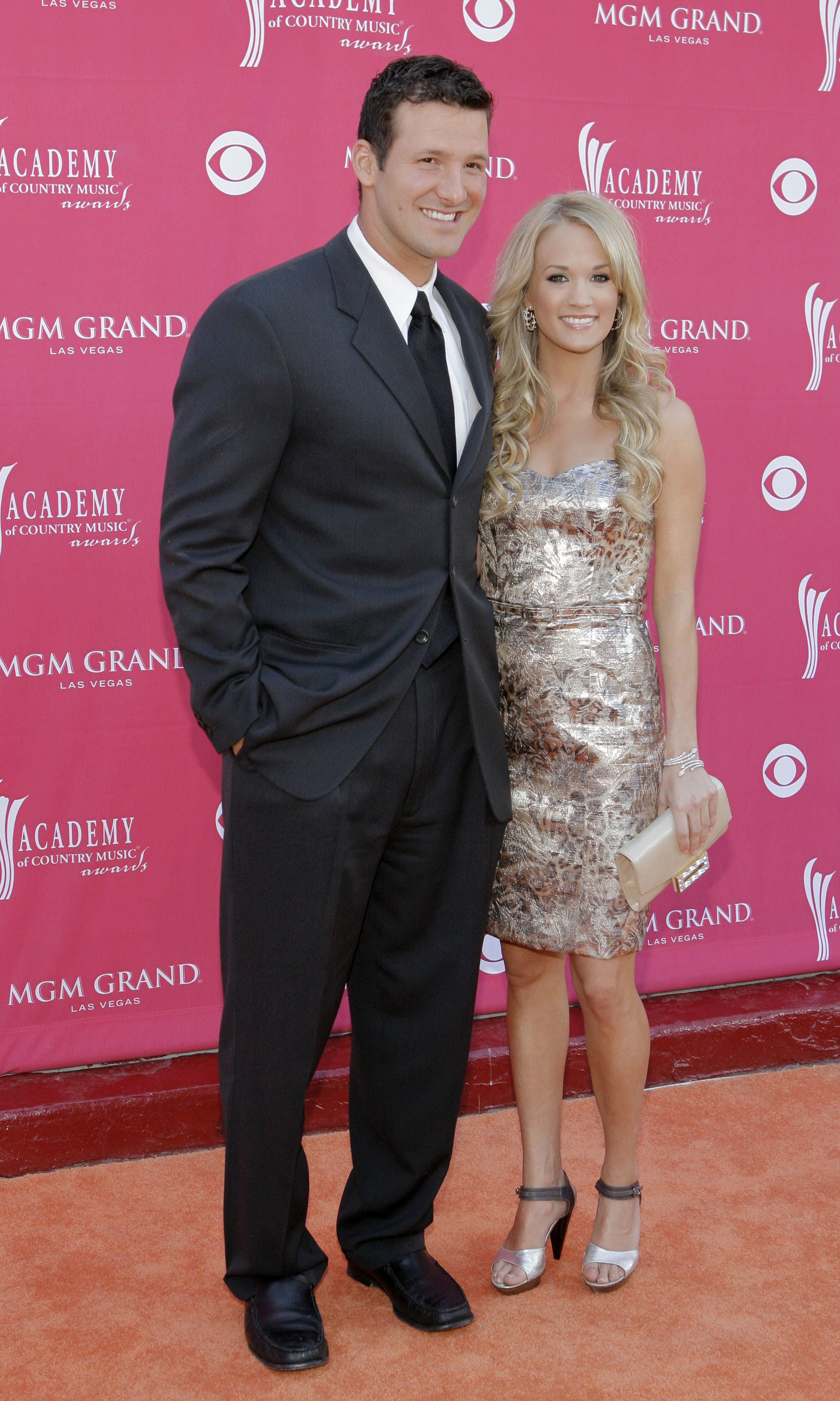 Tony Romo and Carrie Underwood