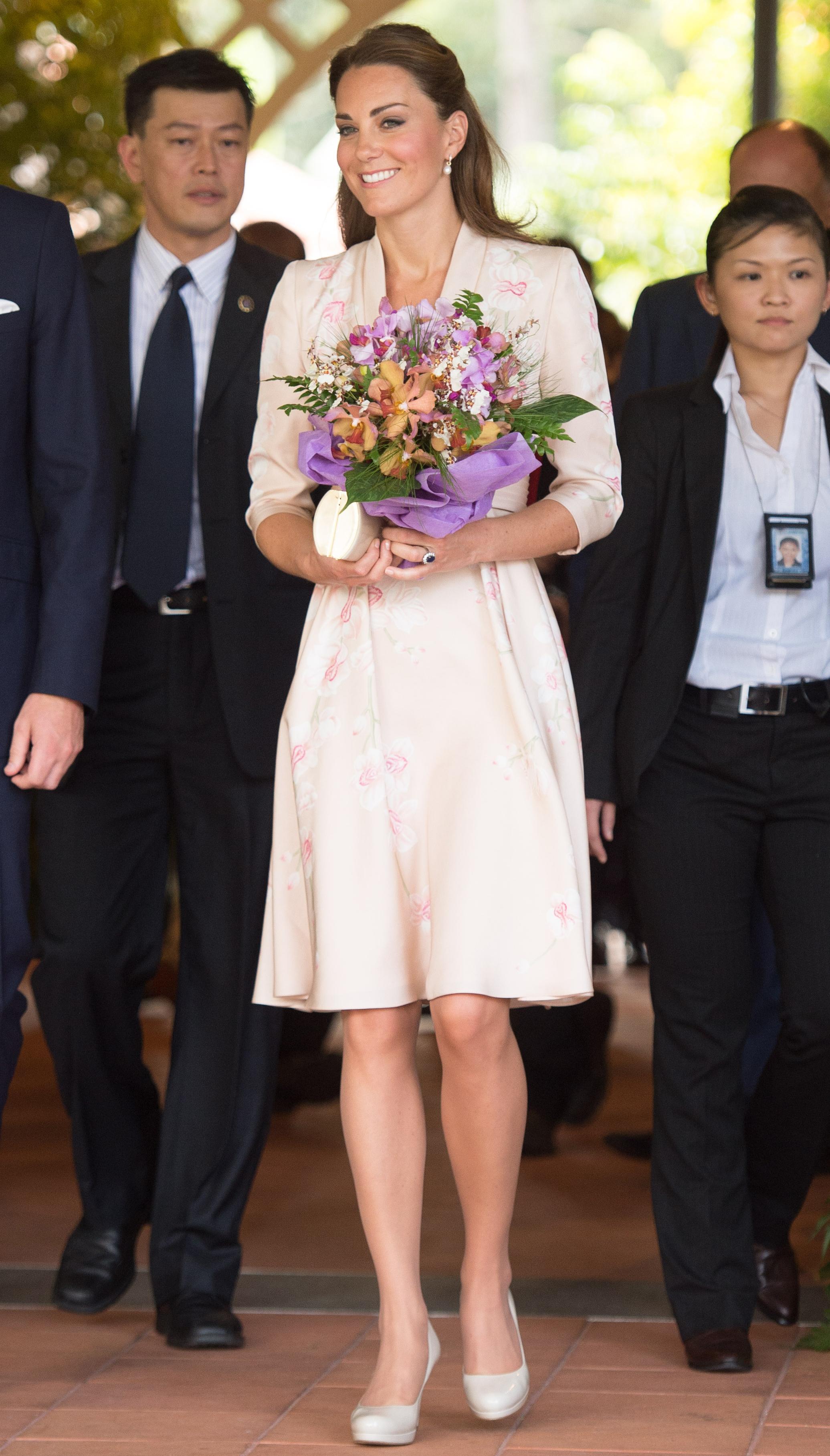 Duchess Kate naming ceremony