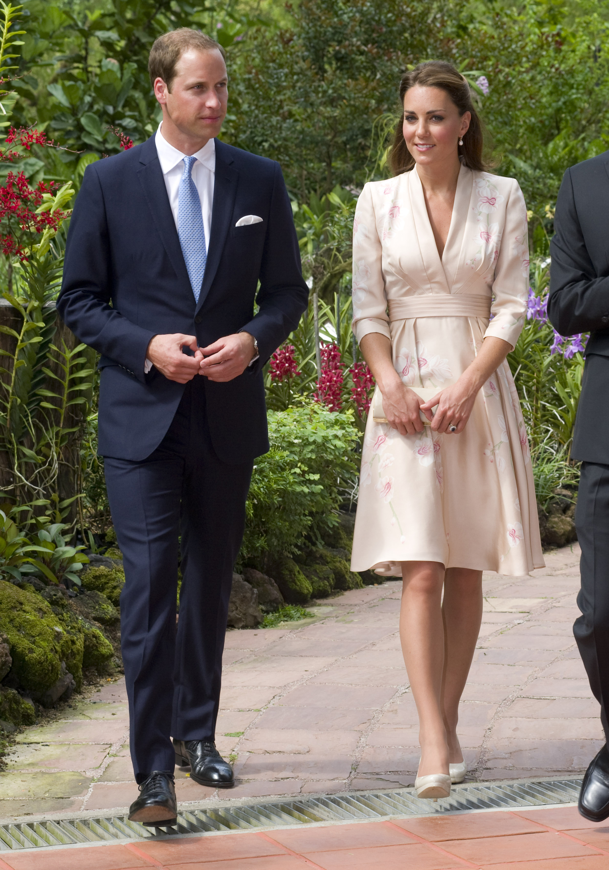Duchess Kate Prince William botanic gardens