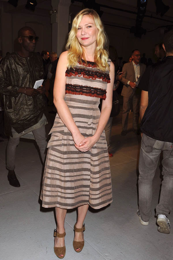 Kirsten Dunst red carpet