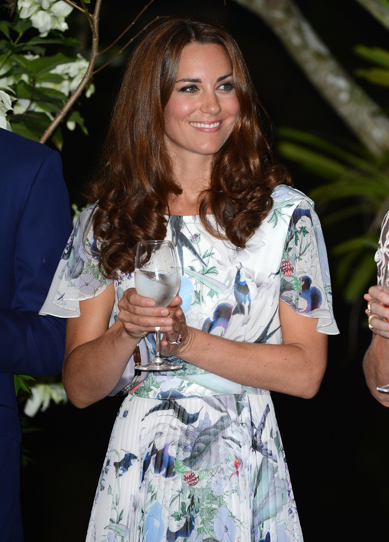 Kate Middleton water glass