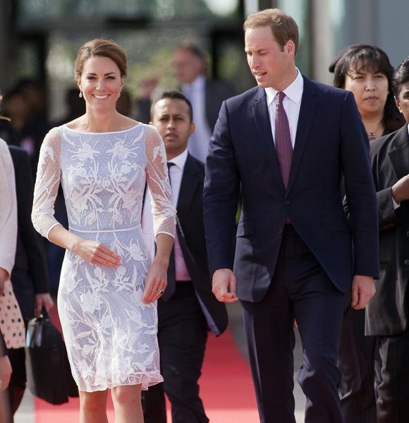 Duchess Kate Prince William diamond jubilee tour