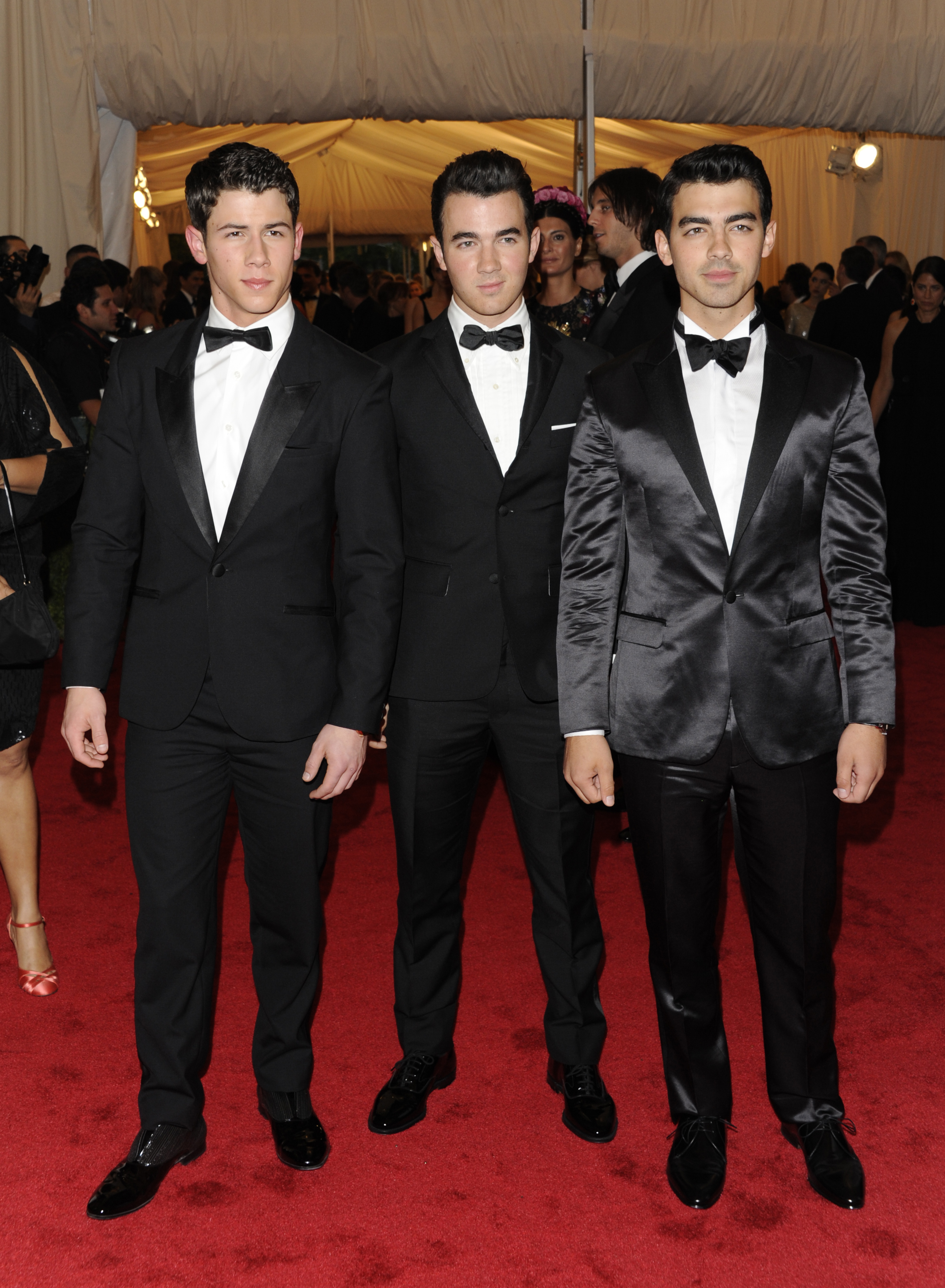 Nick Jonas, 24, Joe Jonas, 27 and Kevin Jonas, 29