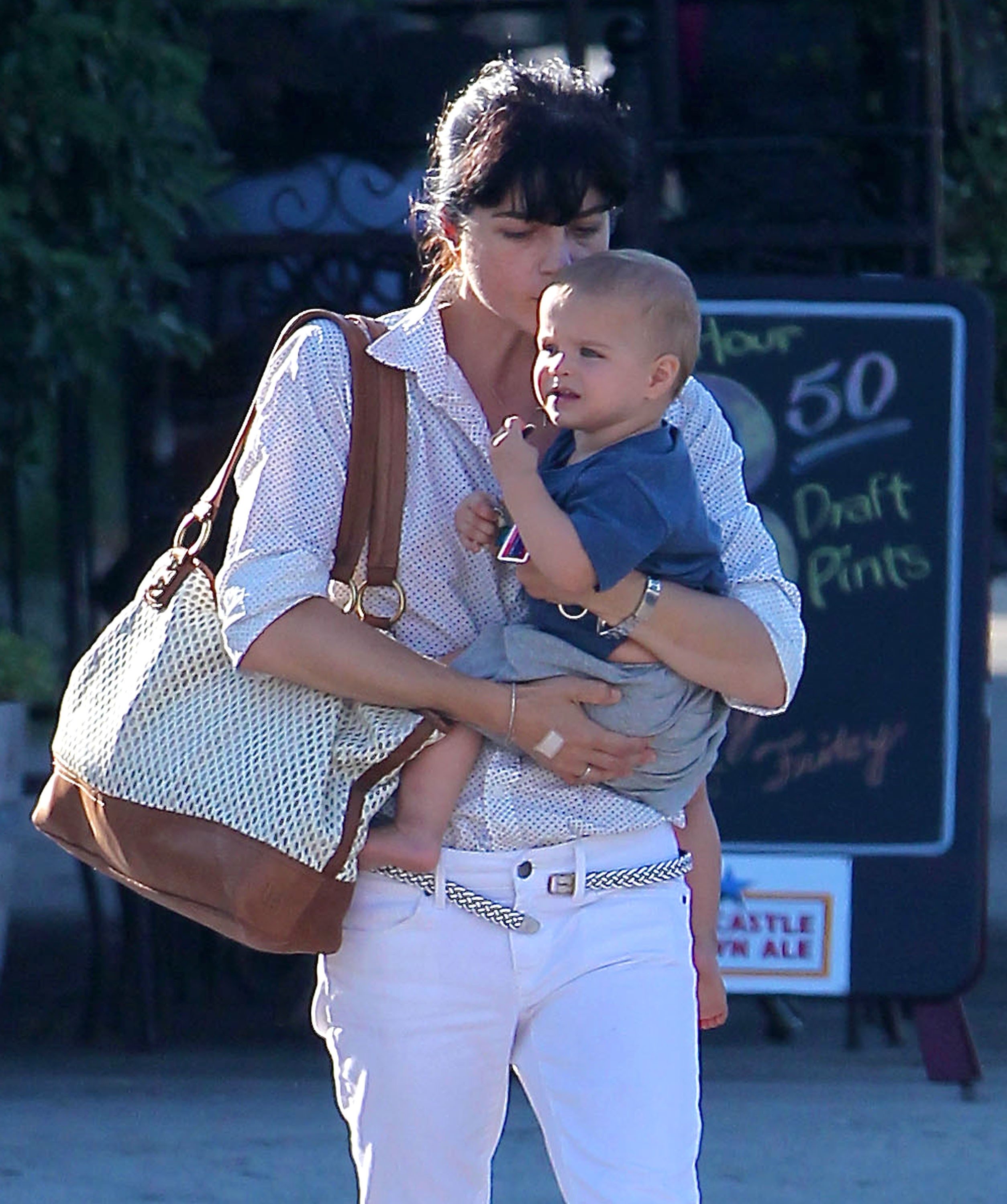 Selma blair son